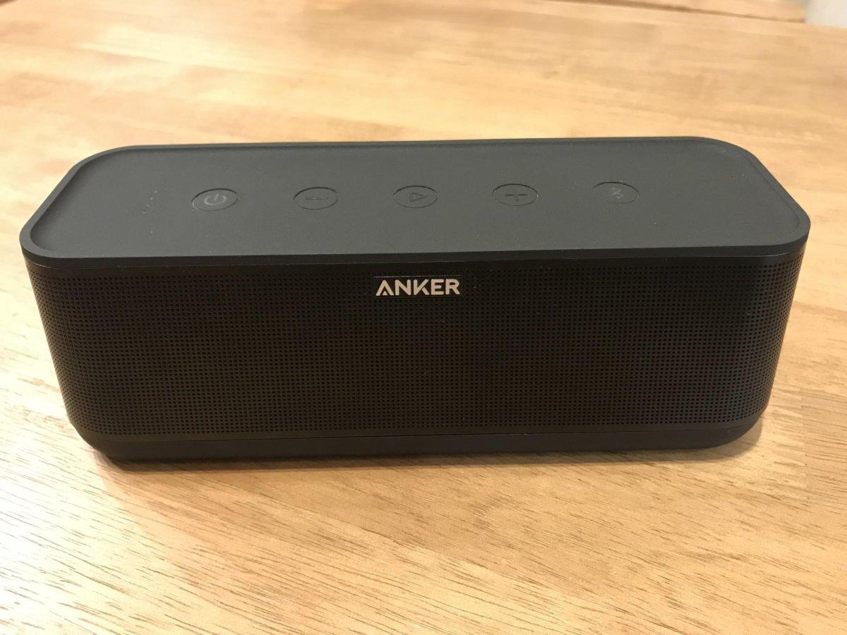 【Anker SoundCore Pro+ レビュー】想像以上の高低音Bluetoothスピーカー!最大18時間の長時間バッテリーが使いやすい!
