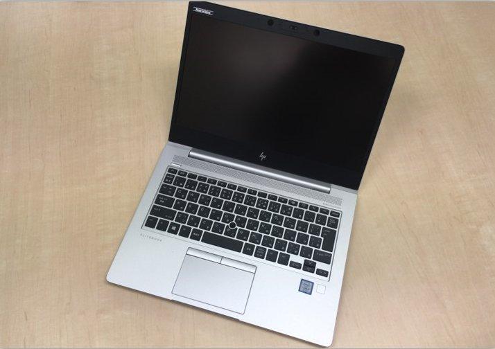 【HP Elitebook 830 G5 レビュー】長時間バッテリー&SIM内蔵可能なノートPC