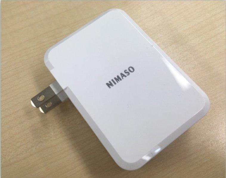 【NIMASO TC-063 レビュー&口コミ】PD対応急速充電器!最大45W出力で3ポートを搭載!