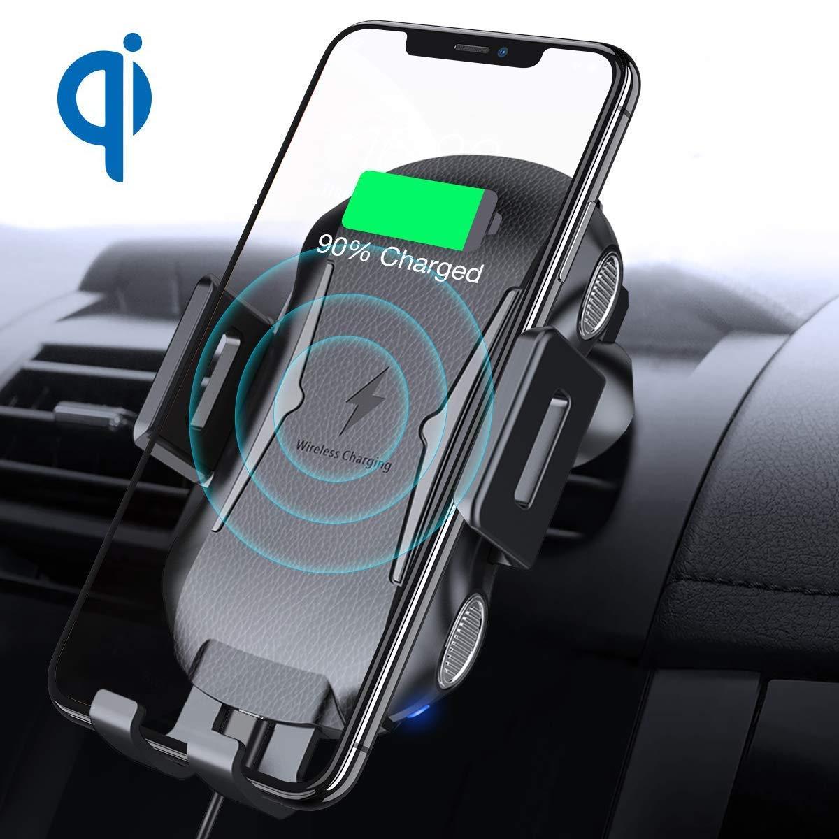 【IMDEN 車載Qi ワイヤレス充電器】ついに時代はここまできた!車内でラクにワイヤレス充電ができるガジェット!