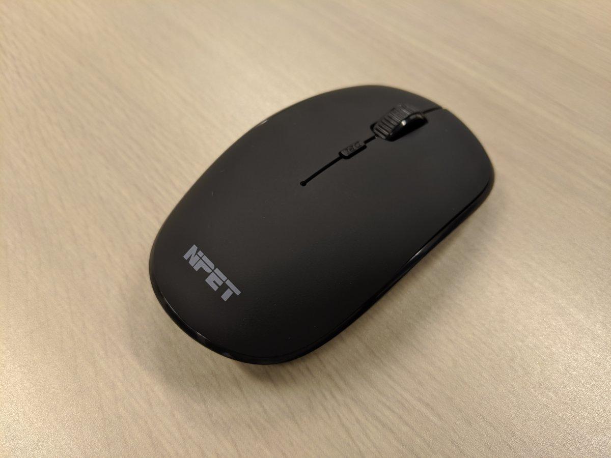 【NPET ワイヤレスマウスM110 レビュー】静音・薄型で持ち運びに最適!USB充電で500時間使える!