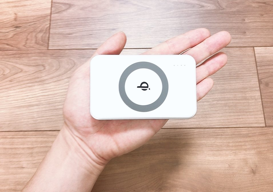 【cheero Energy Plus mini Wireless 4400mAh レビュー&口コミ】ワイヤレス充電対応の便利なモバイルバッテリー【 CHE-105】