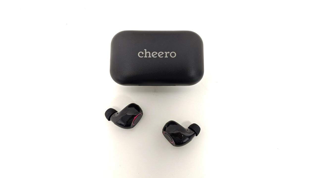 【Cheero CHE-624 レビュー】左右独立利用が可能なAAC対応ワイヤレスイヤホン!充電口にはUSB-C搭載!
